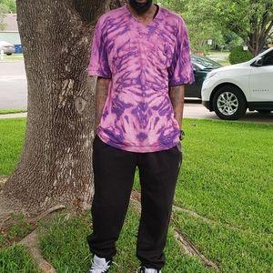 Bleach Dyed T shirt size XL
